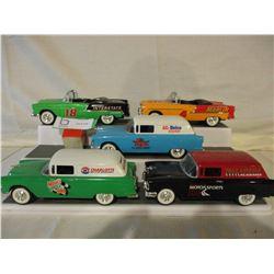 5 Chevrolet 1955 Nascar Custom Cars