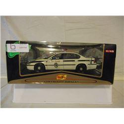 N.I.B Chevrolet Impala Military Police Car 1/18 Scale