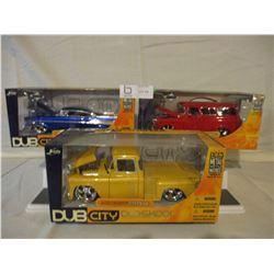6 N.I.B Chevrolet 1950s Custom Car and Truck Models