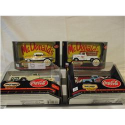 7 N.I.P Chevrolet 1950s Match Box Car and Truck Coll.