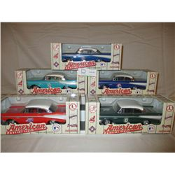 5 Chevrolet 1957 MLB Collector Cars