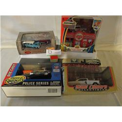 4 N.I.B Chevrolet Assorted 1950s Miniature Cars