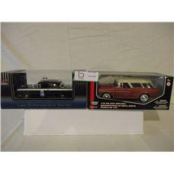 4 N.I.B Chevrolet 1950s Cars