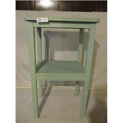 """Wooden Display Stand on Legs 15"""" by 19"""" by 30"""" T"""