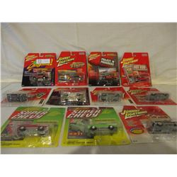 11 N.I.P Chevrolet Miniature Johnny Lightning Cars
