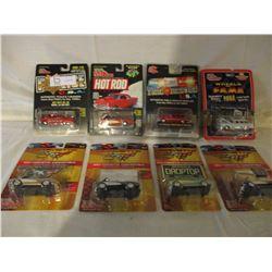 8 N.I.P Chevrolet Miniature 1950s Racing Championship Cars