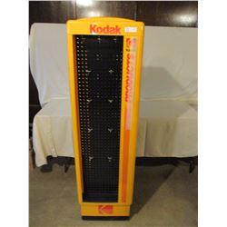 "Kodak Rotating Display Rack 17"" by 17"" by 64"" T"