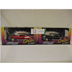 2 N.I.B Chevrolet 1957 Bell Air Hot Rods 1/32 Scale