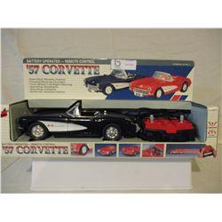 N.I.B Chevrolet 1957 Remote Control Corvette