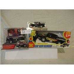 5 N.I.P Chevrolet Hot Rod Car Models