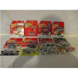 10 N.I.B Chevrolet Miniature Assorted Johnny Lightning Cars