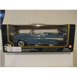 N.I.B Chevrolet 1957 Bel Air Convertible 1/18 Scale