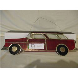 Chevrolet 1950s Stained Glass Ornament