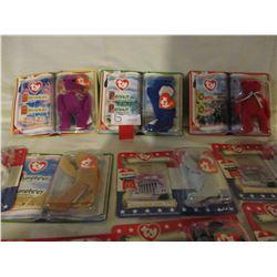 N.I.P Assorted Box of Beanie Babies