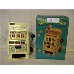 N.I.B Miniature Vegas Slot Machine