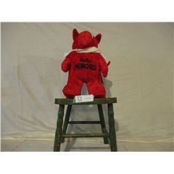 Hostess Red Munchie with Children's Wooden Chair