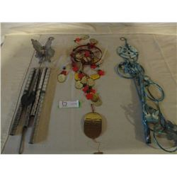 3 Sets of Wind Chimes