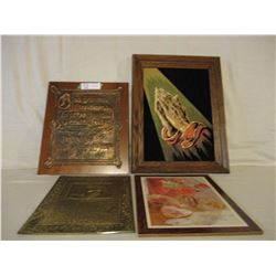 Religious Plaques and Pictures