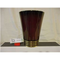 """Carlton Ware Hand Painted """"Rouge Royale"""" 8"""" T Vase"""