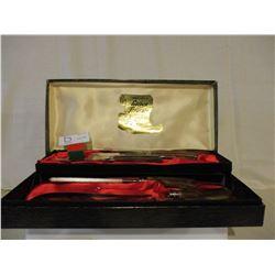 Golden Treasure Carving Knife Set in Box