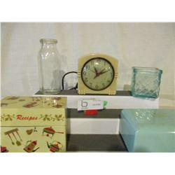 1940s Alarm Clock (Oxford) and Box