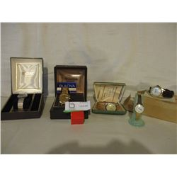 5 Wrist Watches in Boxes