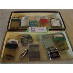 11 Vintage Lighter Assortment
