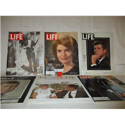 6 1960s Life Magazines About Kennedy