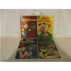 4 1960s Cartoon Comics