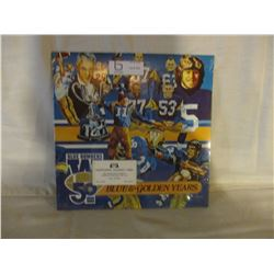 Winnipeg Blue Bombers 1980 50th Anniversary LP Record