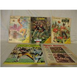 5 1960s CFL Magazines