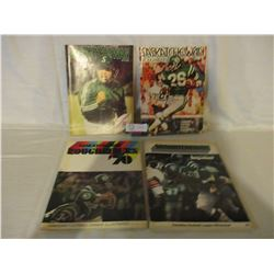 4 Saskatchewan Roughriders Team Magazines