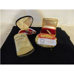 2 Cuff Link Sets N.I.B and Small Jewelry Case and Career Girl Jeweled Pen, and Ink by Windsor