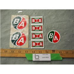 Lot of BA Decals