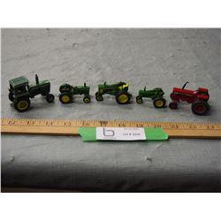 5 Toy Tractors