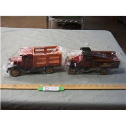 2X THE MONEY - Wooden Trucks Hand-Crafted 10  Long