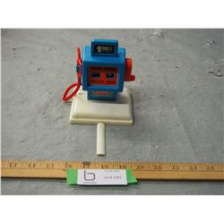 "Plastic Lanard Gas Pump 5.5"" T"