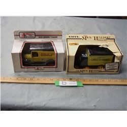 2X THE MONEY - ERTL Coin Bank 1/25 Scale