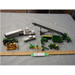 Lot of John Deere Toys