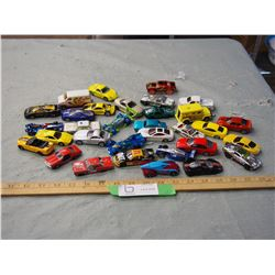 Lot of Vintage Hot Wheels and Mattel Cars