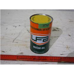 10W Oil Tin UFA