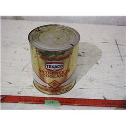 Texaco Anti-Freeze Tin One Gallon