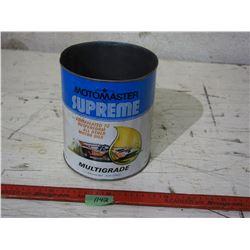 Motor Master Supreme Motor Oil Tin