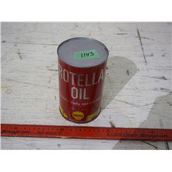 Rotella Oil Tin (Full) Motor Oil Shell