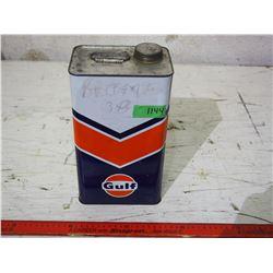 Gulf Oil Tin 1 Gallon