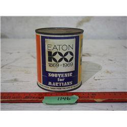 Eaton 100 1869-199 Tin Full Souvenir for Martians Full of Earth