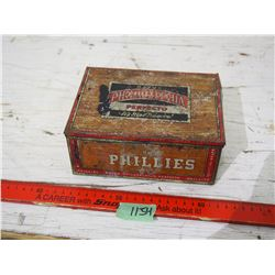 Bayak Phillies Scent Tin (Cigar)