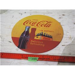 "Coca-Cola Tin Button 12"" Round (Wall Hanging)"