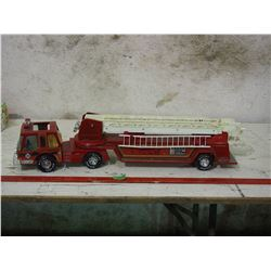 "NYLint Medal Muscle Fire Truck 31"" Long"