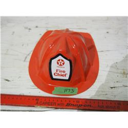 Texaco Plastic Fire Chief Hat